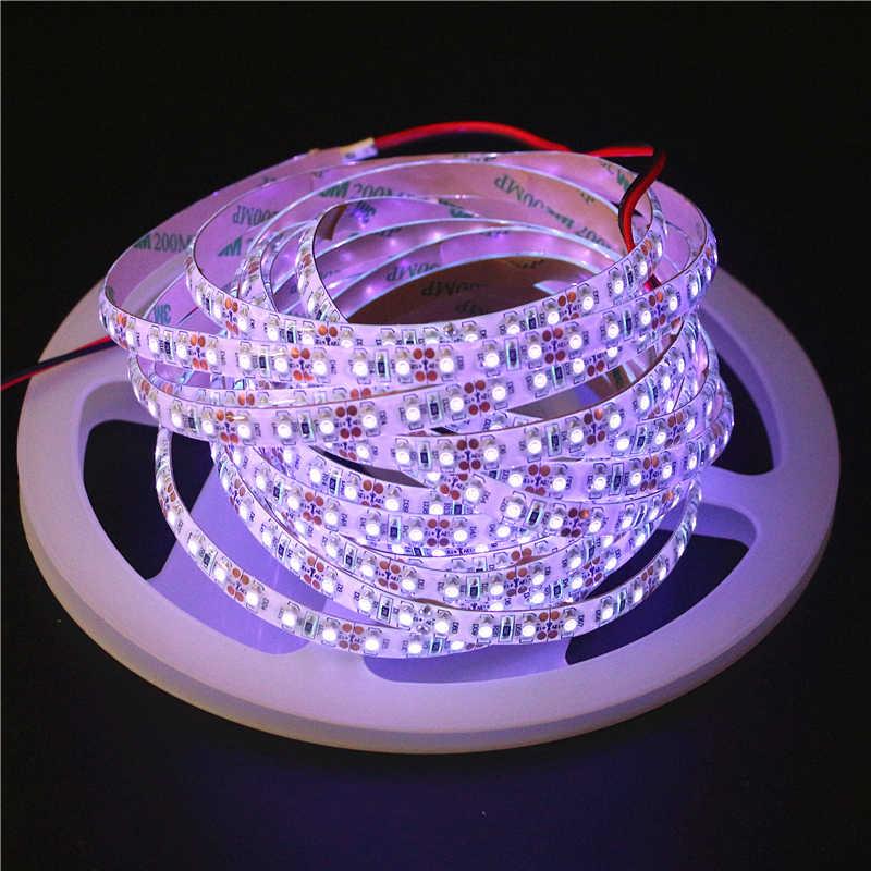 0,5/1/2/3/4/5 m 12 V Водонепроницаемый 3528 SMD 120 светодиодный s/m Ультрафиолетовый 395-405nm светодиодный гибкая лента, полоска лента желтые цветы черный свет лампы