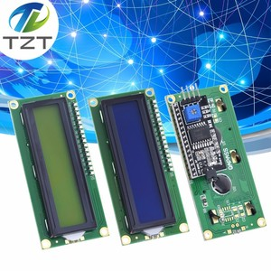 LCD module Blue Green screen IIC/I2C 1602 for arduino 1602 LCD UNO r3 mega2560 LCD1602 LCD1602+I2C(China)