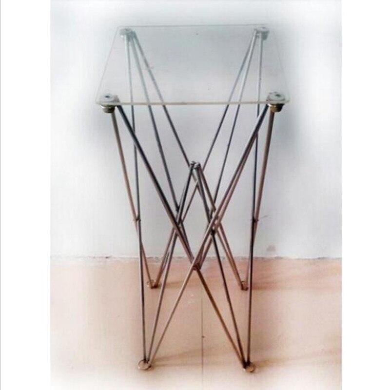 Паук складной стол ясный маг стол сцена магические трюки Профессиональный Волшебная Магия аксессуары, иллюзии