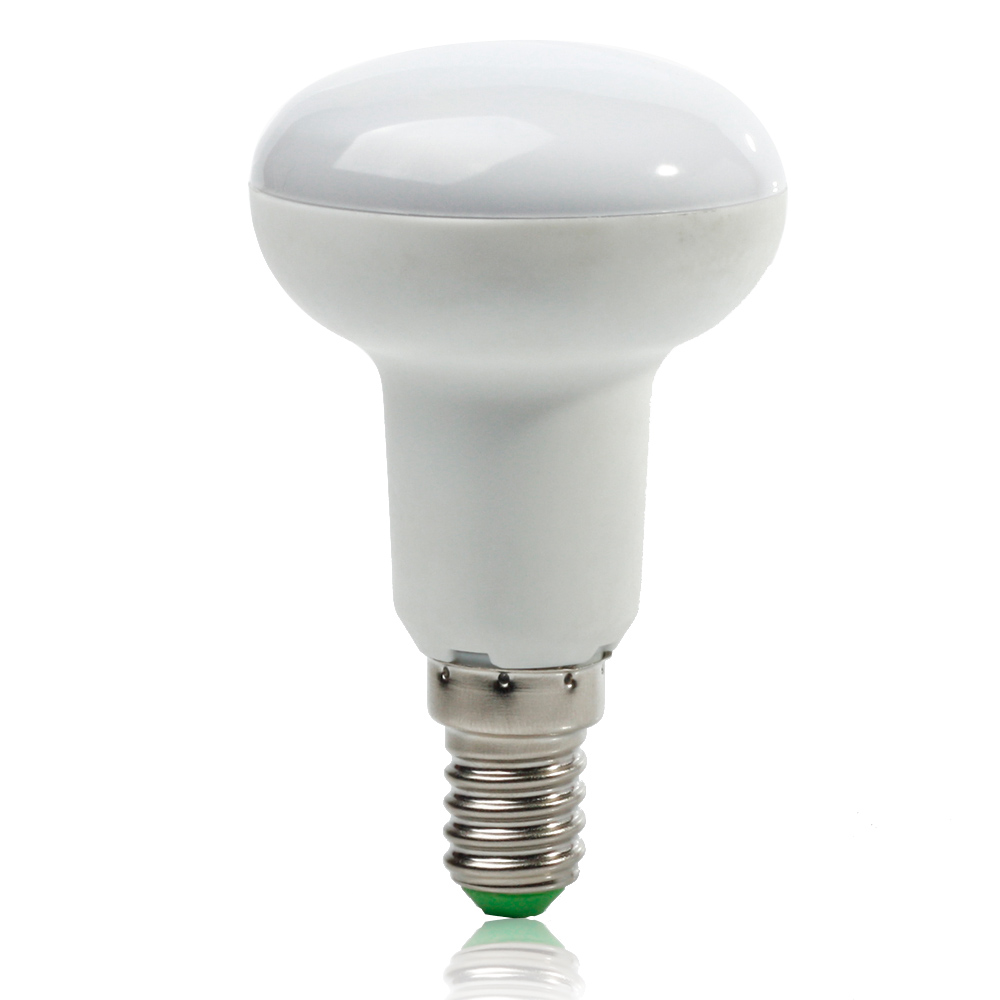 [4/Pack] R50 7W E14 LED Bulb Lamp Cold White/Warm White AC85~265V dimmable Umbrella SpotLight 180 degrees Light e27 umbrella bulb 24w 36w led bulb golden aluminum shell led lamp ac 110v 220v 240v led light smd5730 warm cold white light