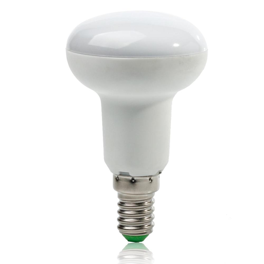 [4/Pack] R50 7W E14 LED Bulb Lamp Cold White/Warm White AC85~265V dimmable Umbrella SpotLight 180 degrees Light 5pcs e27 led bulb 2w 4w 6w vintage cold white warm white edison lamp g45 led filament decorative bulb ac 220v 240v