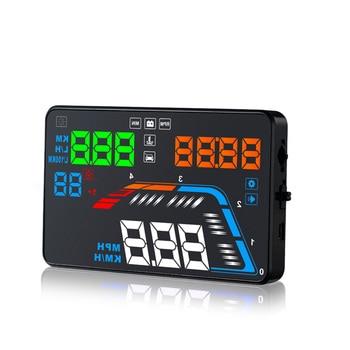 Car HUD Head Up Display OBD2 Display On-board Computer Clear Error Code Windshield Projector Car Speedometer Fuel Consumption