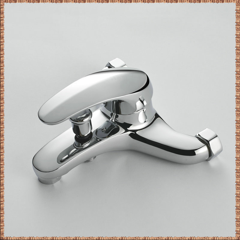 Bathroom Faucets with Diverter Bath Tub Mixer Tap Faucet With Hand ...