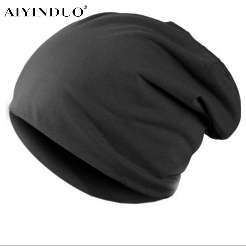 Fashion Knitted Hat  Autumn Winter Solid Man and Women Candy Color Cool Hip Pop Cap Casual Beanie Slouch Baggy Warm Skullies