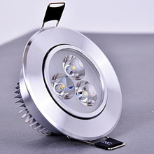 3w 5w 7w Led Ceiling Lamp Recessed Led Downlight 220v 110v Warm / Pure/cold White Round Led Spot Light 1pcs цена и фото