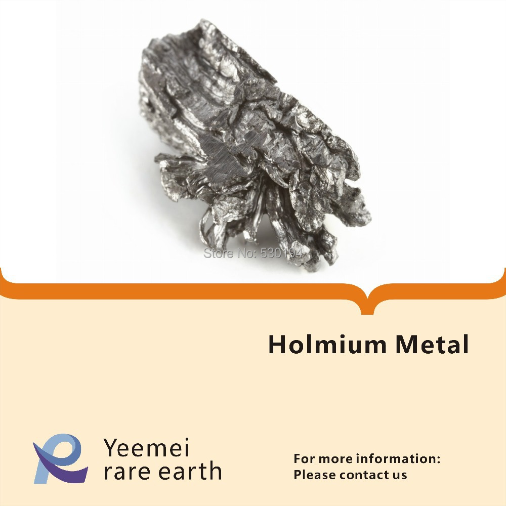 где купить Rare earth metal -- 99.9% Holmium metal дешево