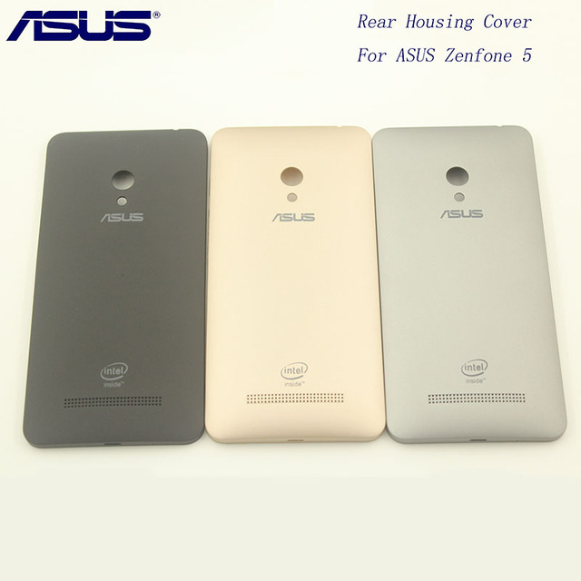 premium selection 6c81c 6420c Original ASUS Zenfone 5 Replacement Back Door Battery cover Rear Housing  Cover Case With Side Button A501CG A500CG A500KL -in Fitted Cases from ...