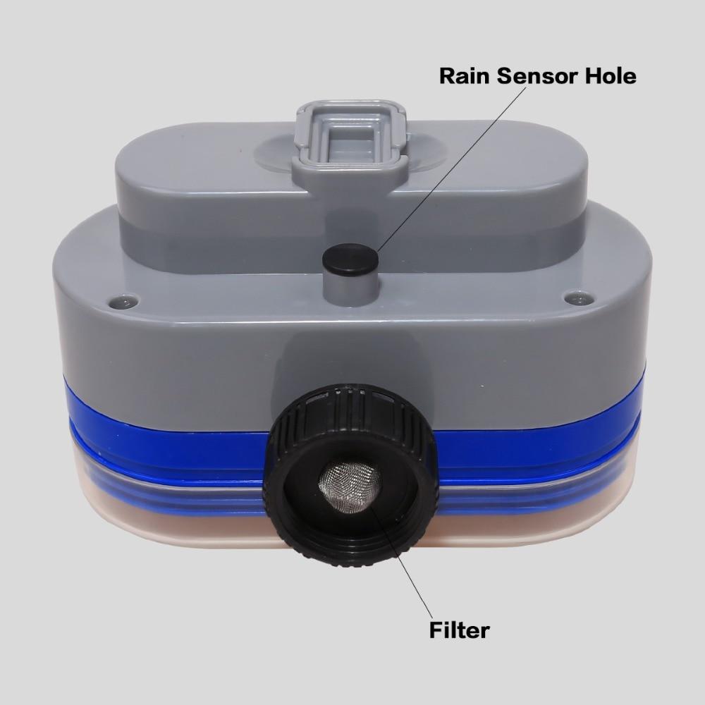 Digital Electronic Garden Water Timer With Rain Delay Button for Garden 4