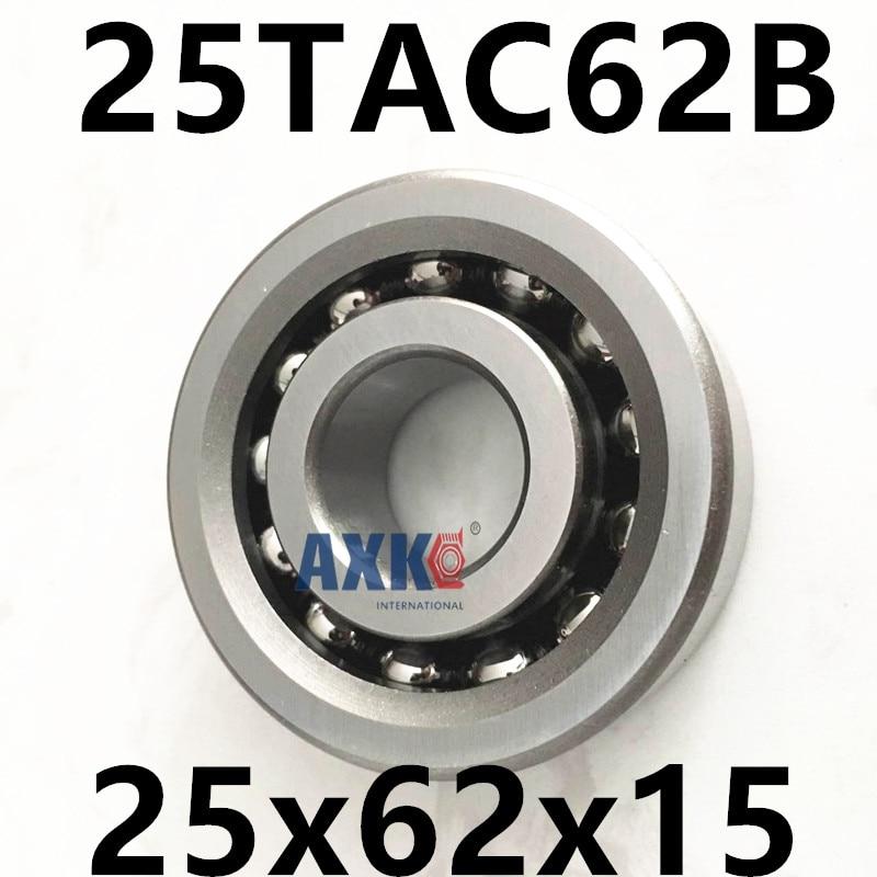 1pcs 25TAC62B 25 TAC 62B SUC10PN7B 25x62x15 AXK  High Speed High Load Capacity Ball Screw Support Bearings 1pcs 17tac47b 17 tac 47b suc10pn7b 17x47x15 mochu high speed high load capacity ball screw support bearings