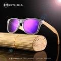 2017 NUEVAS Gafas de sol Polarizadas gafas de Sol de Los Hombres Gafas De Sol De Madera De Bambú Mujeres Espejo Diseñador de la Marca Original de Gafas de Sol de Madera KD021