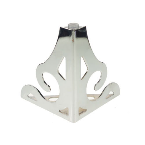 (4) 120mm Set Metal Furniture Cabinet Legs Bed Tea Table Chair  Sofa Leg Feet