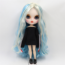 Factory Neo Custom Blythe Doll Colorful Hair Jointed Body 30cm