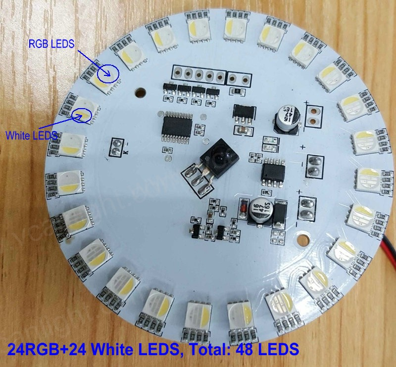 waterproof rgb led light lamp