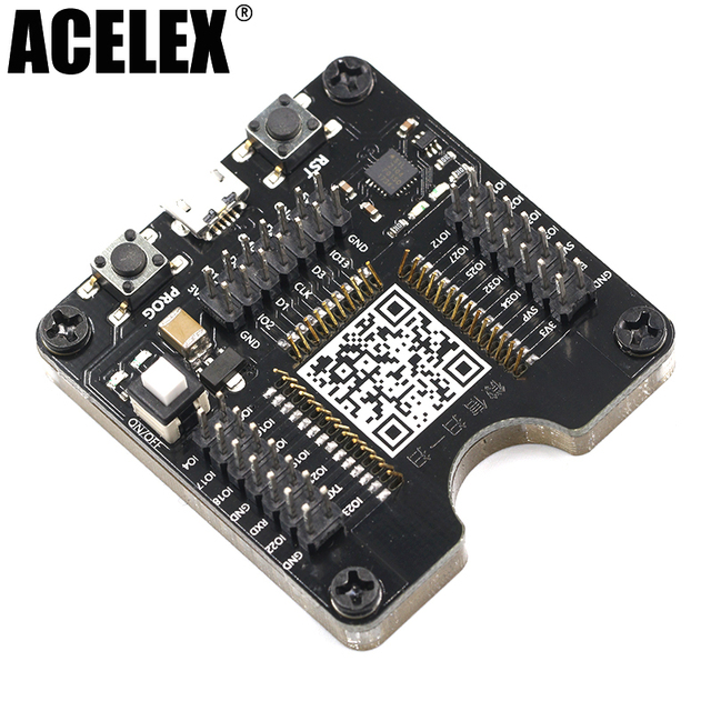 US $16 15 5% OFF ESP32 test board ESP32 WROVER small batch burn fixture,  for ESP 32 module ESP WROOM 32 module-in Replacement Parts & Accessories  from