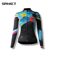 New Women Bike Long Sleeved Warm Cycling Bicycle Clothe Autumn And Spring For Women S