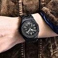 Relojes de cuarzo BENYAR para hombre, moda Casual, 30M a prueba de agua, reloj deportivo, reloj de pulsera de acero inoxidable para hombre, reloj para hombre 2019 nuevo