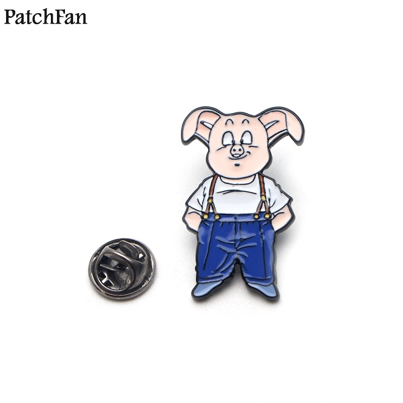 20pcs/lot Patchfan Dragon Ball Oolong Pig Son Goku Pins Backpack Clothes Tie Brooches For Men Women Hat Decoration Badges A1429 Making Things Convenient For Customers Arts,crafts & Sewing Home & Garden