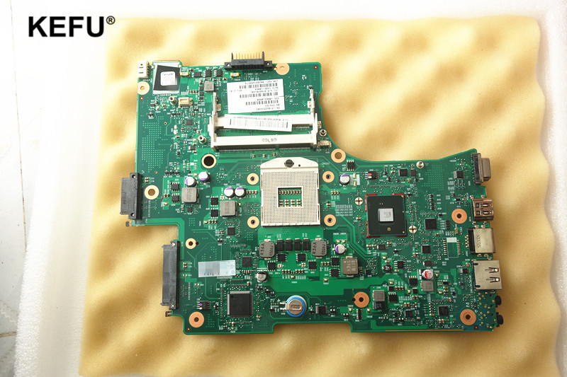 все цены на laptop motherboard fit for toshiba satellite L650 C650 L655 V000218010 6050A2332401-MB-A03 HM55 PGA989 DDR3 Fully tested онлайн