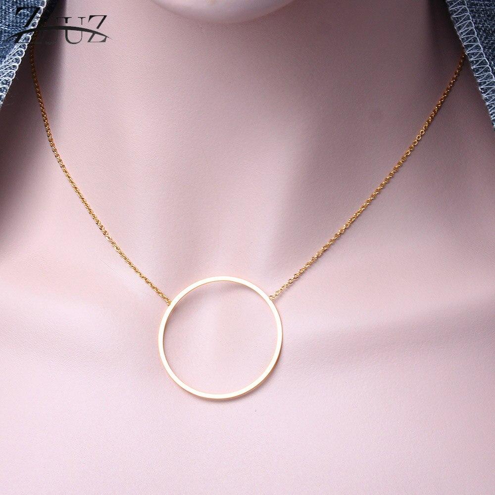 Чокер ZUUZ из нержавеющей стали, ожерелье с кулоном в виде звезды для лучших друзей, колье золотистого цвета, аксессуары для женщин