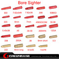 Greenbase Охота Пистолет Красный Лазерный Диаметр Sight 0.30 0.38 20GA 9 ММ BoreSighter для Винтовки Пистолет