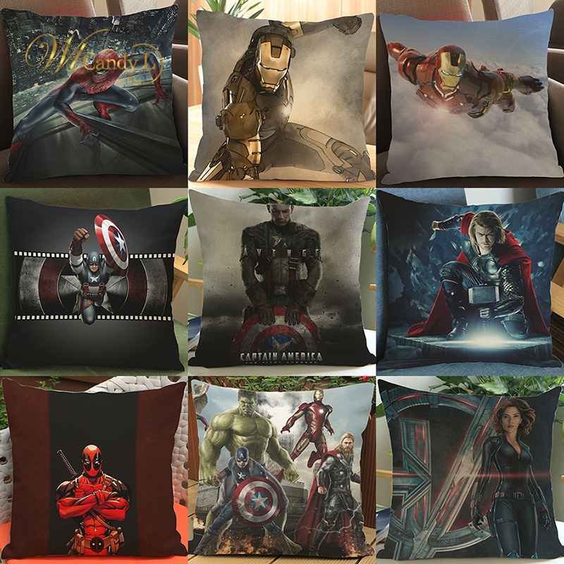 Buy marvel cushion and get free shipping on AliExpress com