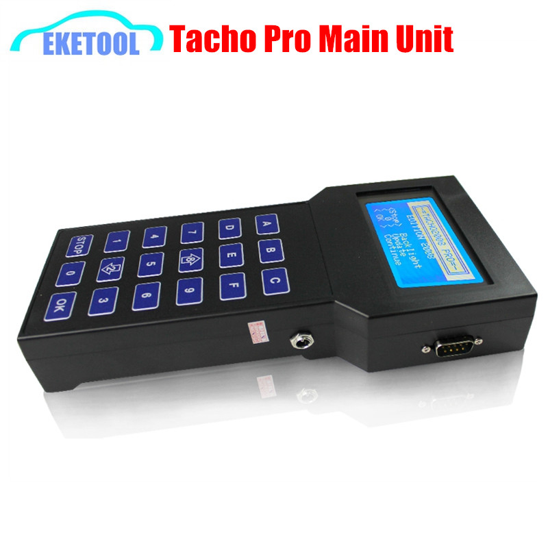Universal Tacho Pro Main Unit Only Sale Works Multi Brand Cars Tacho V008 07 Auto Dash