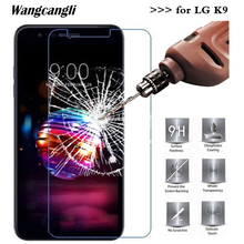 Wangcangli 2.5D Ultra-thin Tempered Glass for LG K9 Screen Protector 9H Protective Film anti-fall Cell Phone