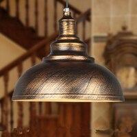 Hohe qualität großhandel Amerikanischen industrie Kronleuchter Lampe Retro Wohnzimmer Restaurant Bar Cafe eisen lampe Retro kupfer 110-220v