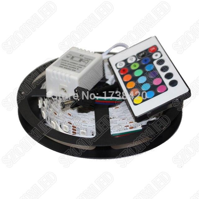 With 24keys remote controller 144 wm rgb led strip 5050 smd set with 24keys remote controller 144 wm rgb led strip 5050 smd set 60leds led aloadofball Gallery