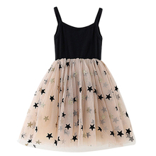 US $5.43 27% OFF|Summer Girl Party Frocks Children Dresses Kids Girl Sleeveless Stars Print Dress Toddler Girl Clothes Summer Dresses for Girls-in Dresses from Mother & Kids on Aliexpress.com | Alibaba Group