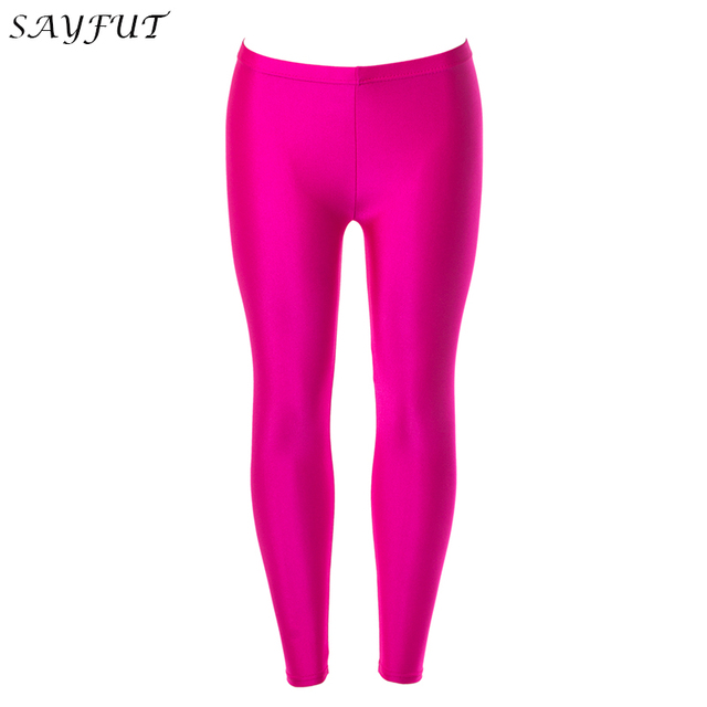 cc7dee403bf3a SAYFUT Seamless Full Length Basic Leggings Variety of Colors Thin High  Waist Tummy Compression Control Slimming