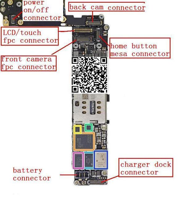 Diagram Of The Back Of Iphone 6 Custom Wiring Diagram