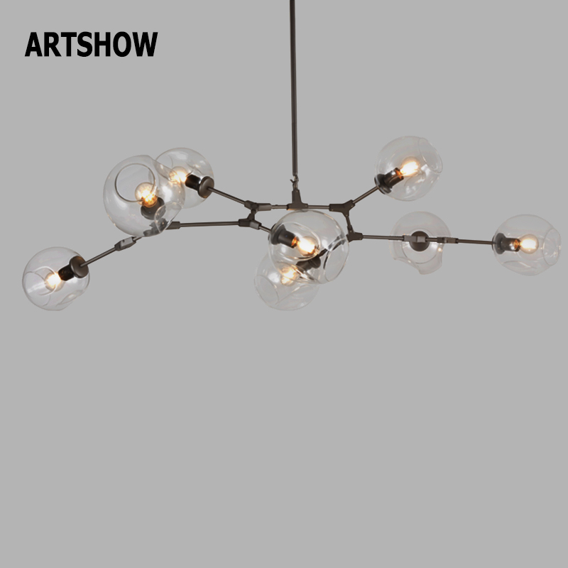 Aliexpress Com Buy Artshow Art Chandelier Lighting Globe