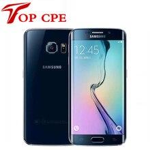 Оригинальный samsung galaxy s6 g920f s6 edge g925f g925p мобильный телефон окта ядро 3 ГБ ram 32 ГБ rom 16mp 5.1 «Android 5.0 Восстановленное