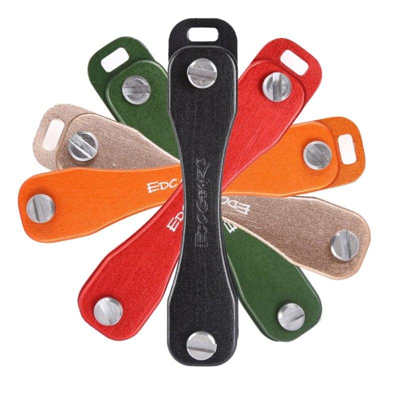 Nike Gloves Key Pocket: EDC Gear Aluminum Key Keychain Holder Folder Clamp Pocket
