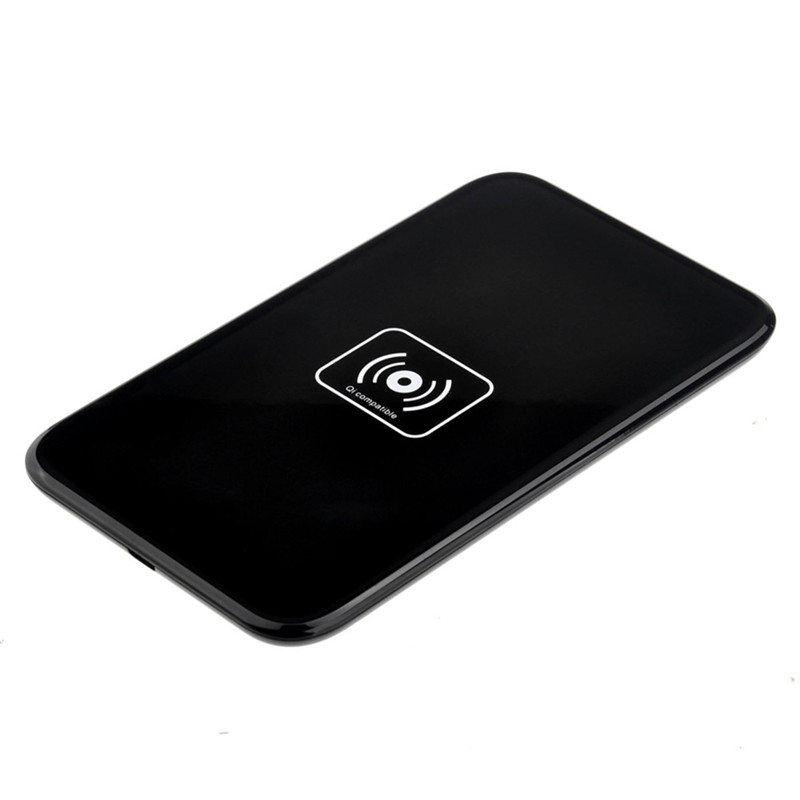 Qi Standard Small Thin Square Wireless Charger Support for iphone 8 8p X Universal Wireless charging pad for Samsung S8 Note8