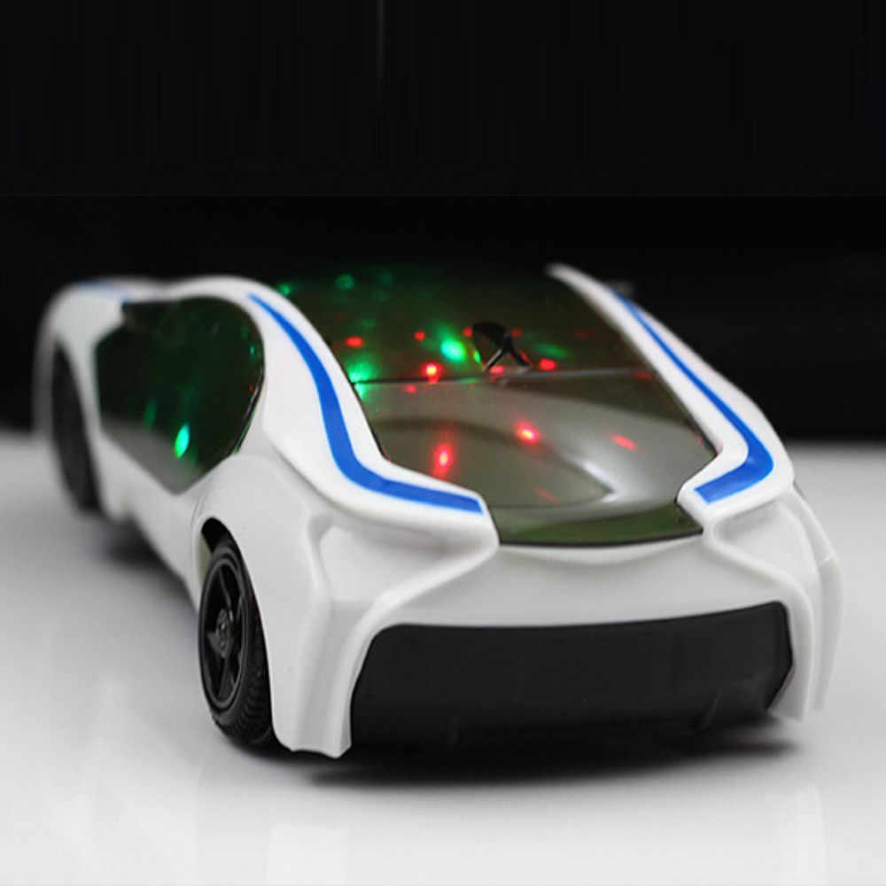 ของเล่น 3d supercar สไตล์ไฟฟ้าของเล่นล้อไฟเพลงร้องเพลงเด็กผู้หญิงของขวัญเด็กไฟฟ้า universal drop shipping