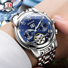 2016 BINKADA Tourbillon Designer Watches Top Quality Sapphire Glass Watch With Date Day And Full Steel