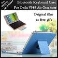Оригинал Bluetooth Клавиатура Чехол для Onda V989 air Octa ядро 9.7 дюймов Планшетных ПК freeshipping + Экран защитная пленка как подарок