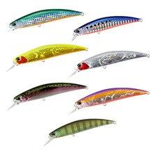 Длинная приманка для ловли рыбы, 105 мм, 16 г, профессиональная приманка для ловли гольяна, подходит для литья, жесткая приманка, рыболовная приманка, Pesca