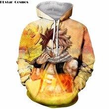 PLstar Cosmos 2018 Autumn Women/Men Casual Hoodies Anime Fairy Tail 3D Print Hoodie Unisex Hipster Streetwear Top Pullover