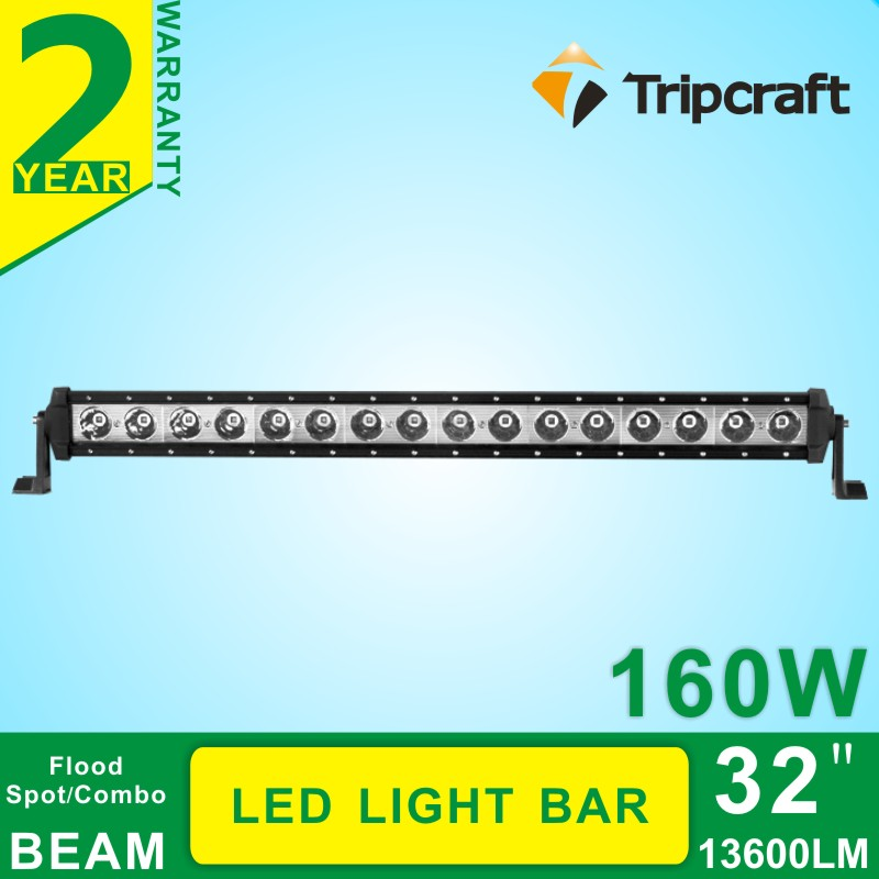Car styling 160W 32inch LED Light Bar Offroad Cree chip Spot/Flood/Combo Beam 12/24V Driving Work Lamp for Truck SUV ATV 4x4 4WD
