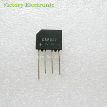 10 шт./лот KBP307 3A 1000 В диодный мостовой выпрямитель kbp307 мостовой выпрямитель