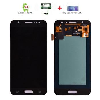 6765782d257 Super Amoled para Samsung Galaxy S6 borde G925 G925F G925A pantalla LCD con marco  digitalizador de pantalla táctil de asamblea completo de