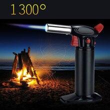 Jet 1300 c сварки факел зажигалка для сигар Авто-прикуриватели обжарки огнестрельное оружие супер огневой мощи Высокая Температура сжигание легче