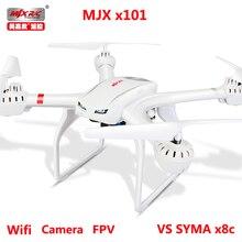 Profesión Drones dron Quadcopter 6 Axis RC Helicóptero MJX X101 drone puede añadir hd FPV Wifi Cámara HD VS X5sw X8C X8W X600