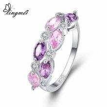 Женское кольцо с фианитом размеры 6 9