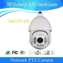 Free Shipping DAHUA CCTV Security Camera 2MP 25x Starlight IR PTZ Network Camera IP66 Without Logo SD6C225U-HNI