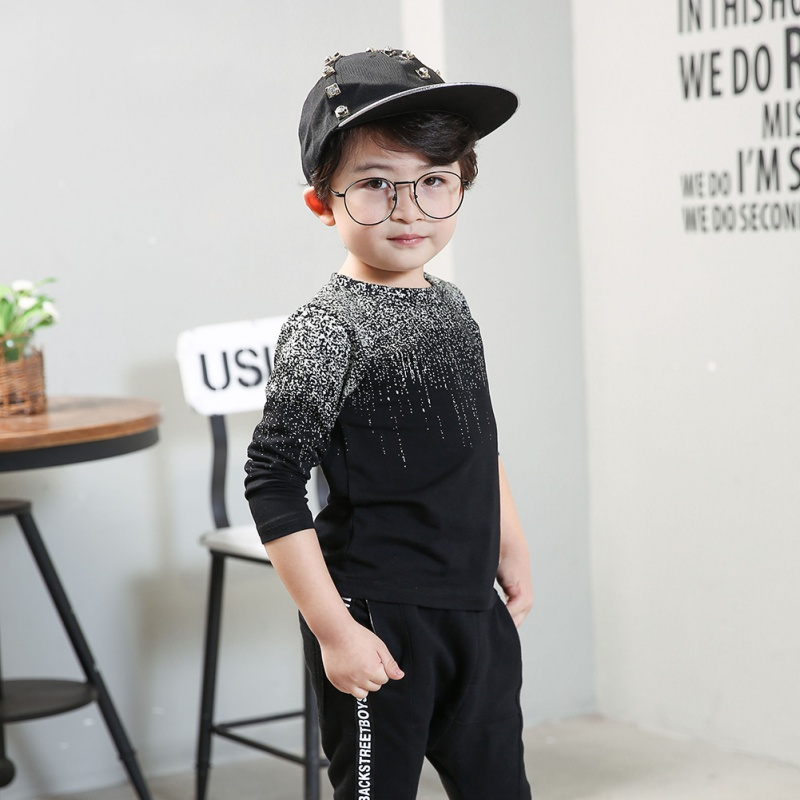 Autumn Winter Baby Boys Pullover Tops Babies Boy Fashion Long Sleeve T-Shirt Sweatshirt Clothing Toddler Clothes New Arrival