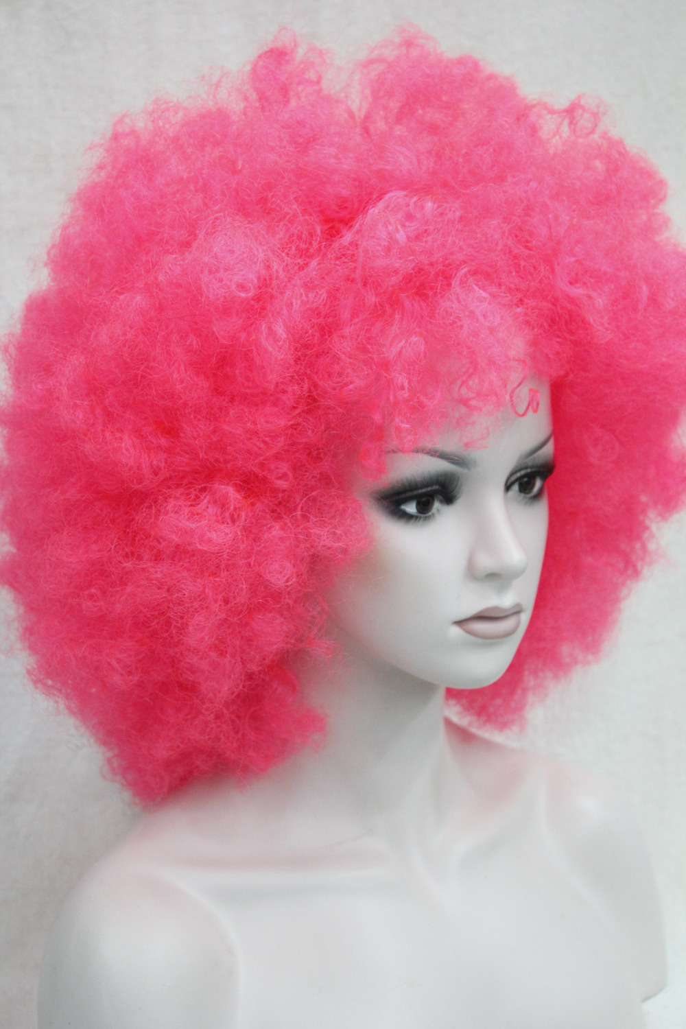 Popular Pink Afro Wig Buy Cheap Pink Afro Wig Lots From